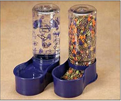 Lixit Animal Care Feeder and Water Fountain