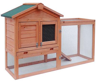 Merax Bunny Wood House
