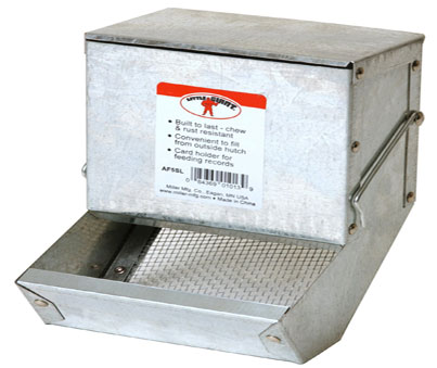 Miller Galvanized Feeder