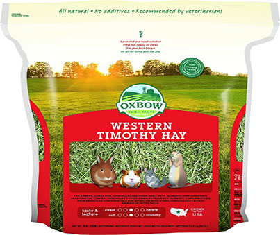 Oxbow Animal Health Western Timothy Hay for Rabbits