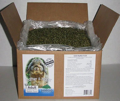 Sherwood 10lb Adult Rabbit Food