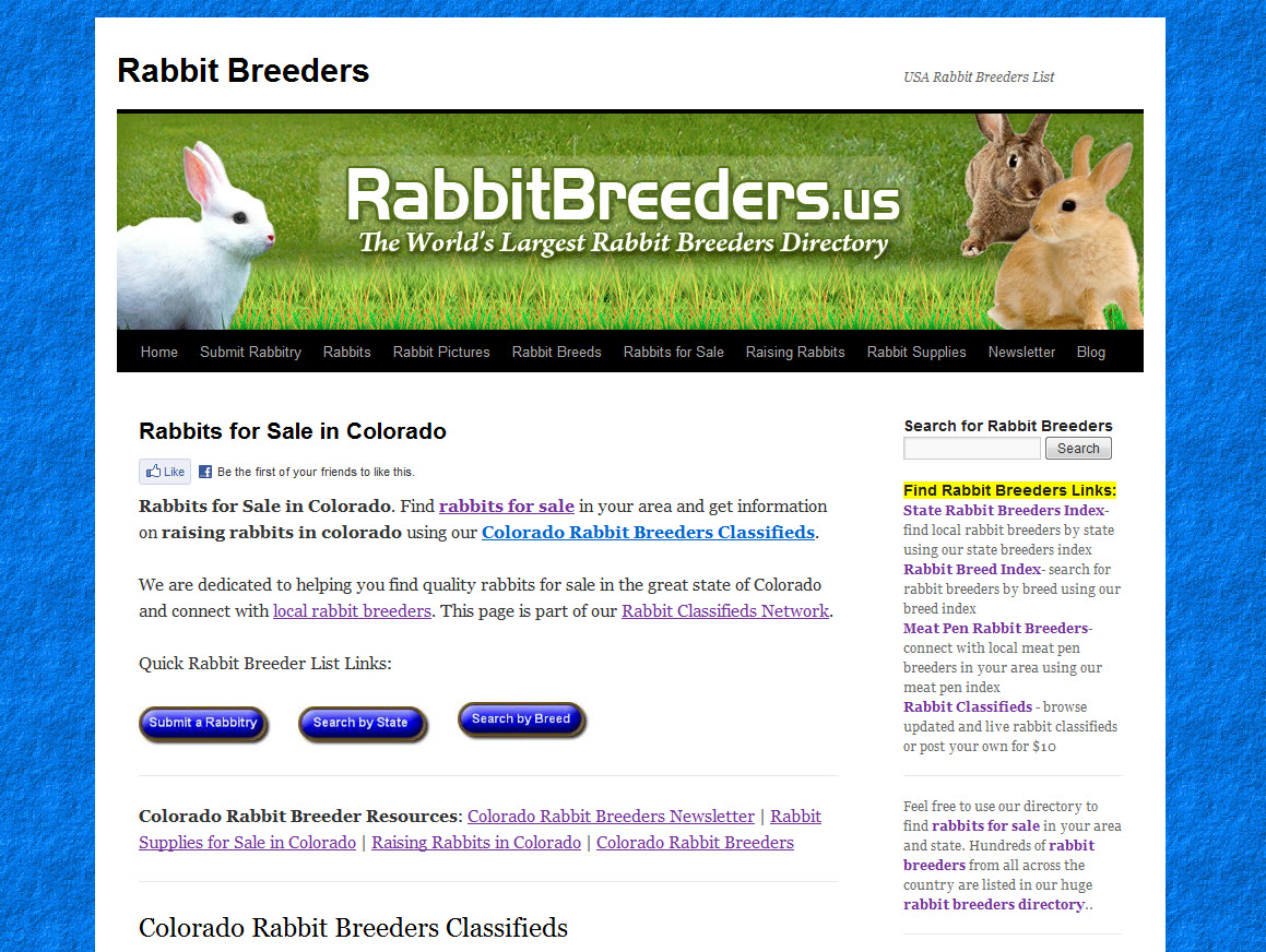 Colorado Rabbit Breeders