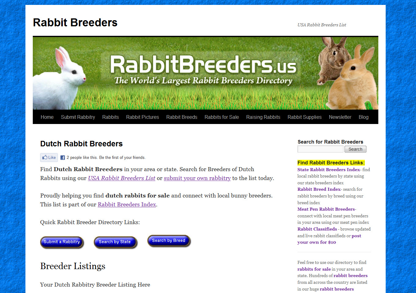 Dutch Rabbit Breeders