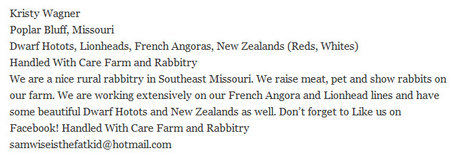 Handled With Care Farm and Rabbitry