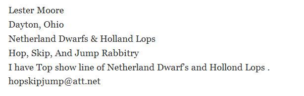Hop, Skip, And Jump Rabbitry