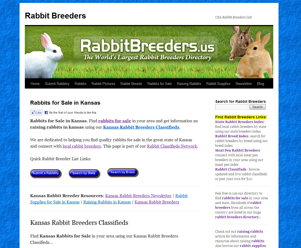 Kansas Rabbit Breeders
