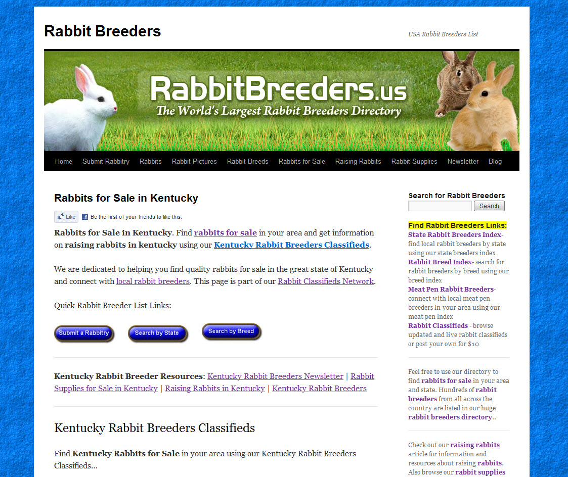 Kentucky Rabbit Breeders