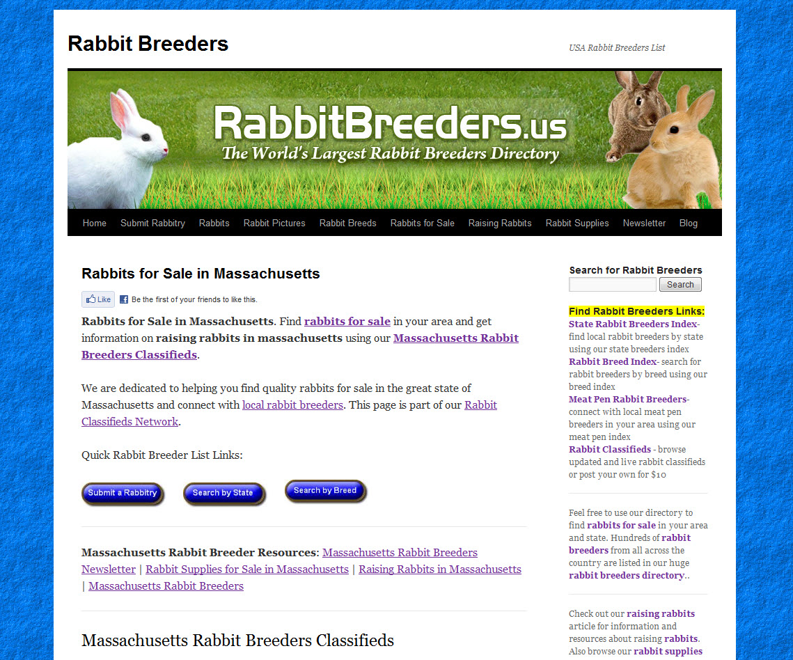 Massachusetts Rabbit Breeders