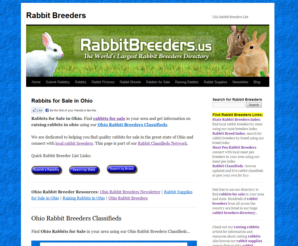 Ohio Rabbit Breeders