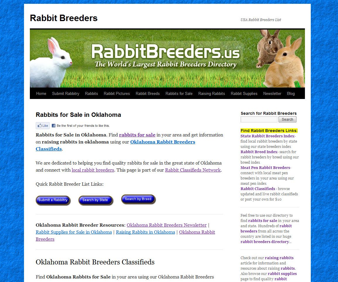 Oklahoma Rabbit Breeders