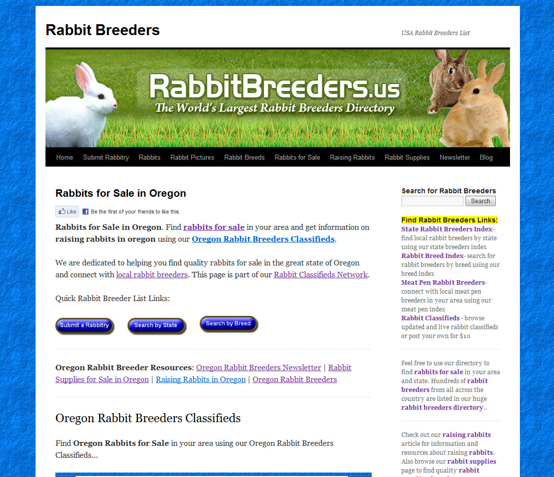 Oregon Rabbit Breeders