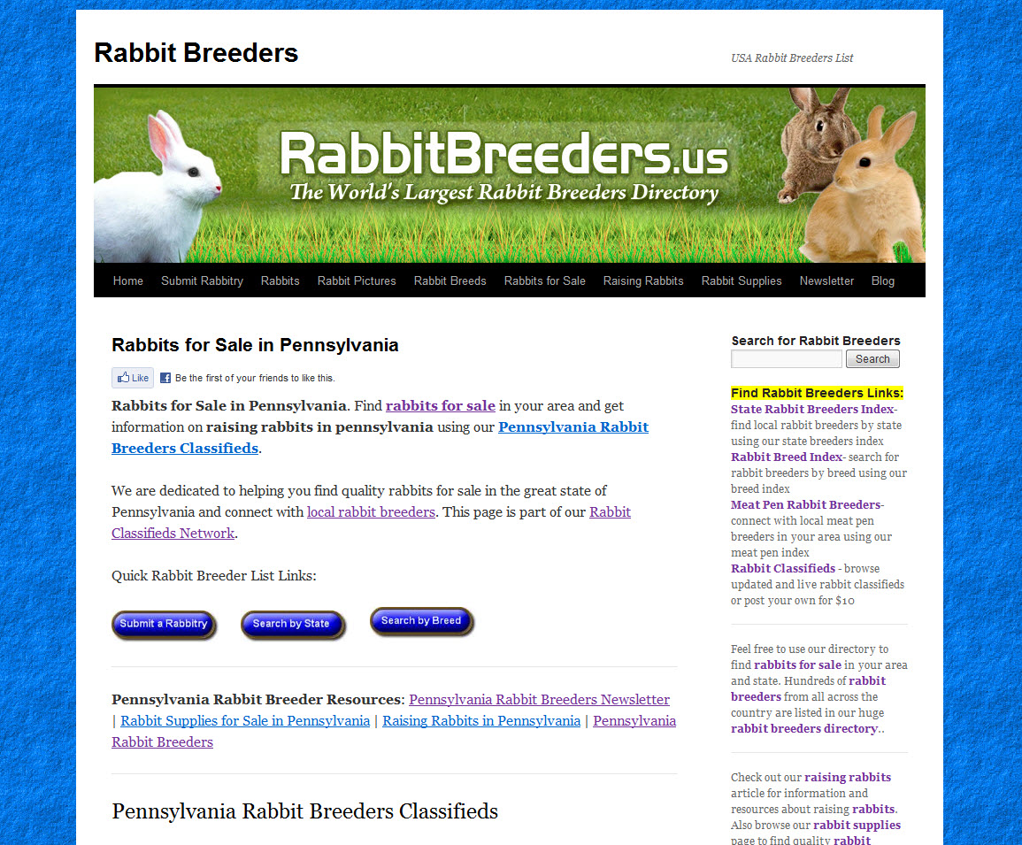 Pennsylvania Rabbit Breeders