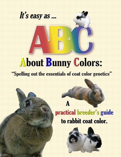 Rabbit Coat Colors Book