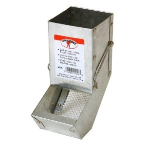 3-Inch Galvanized Rabbit Feeder