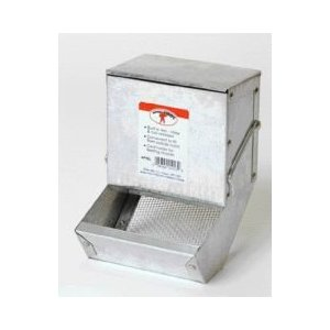 Rabbit Feeder With Sifter Bottom