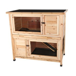 Two-in-One Rabbit Hutch