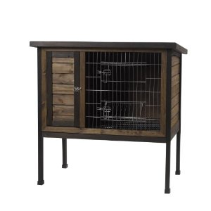 Pet Rabbit Hutch, 1-Story