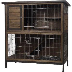 Indoor Wooden Rabbit Cage Plans