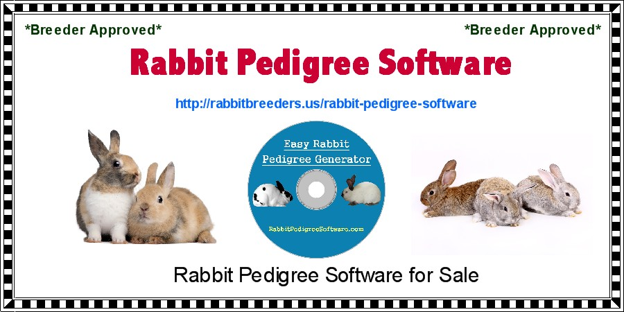 Rabbit Pedigree Software