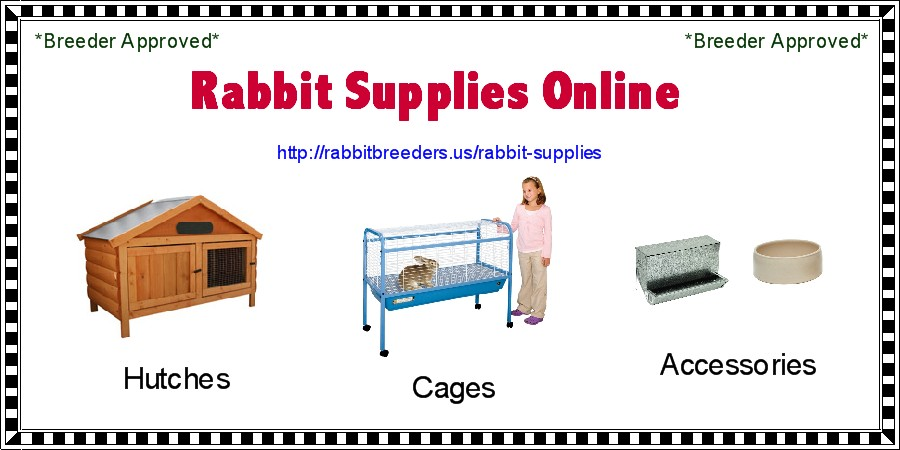 Rabbit Supplies