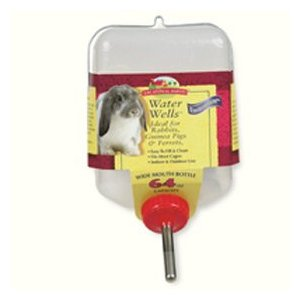 Wide Mouth Water Bottle for Rabbits