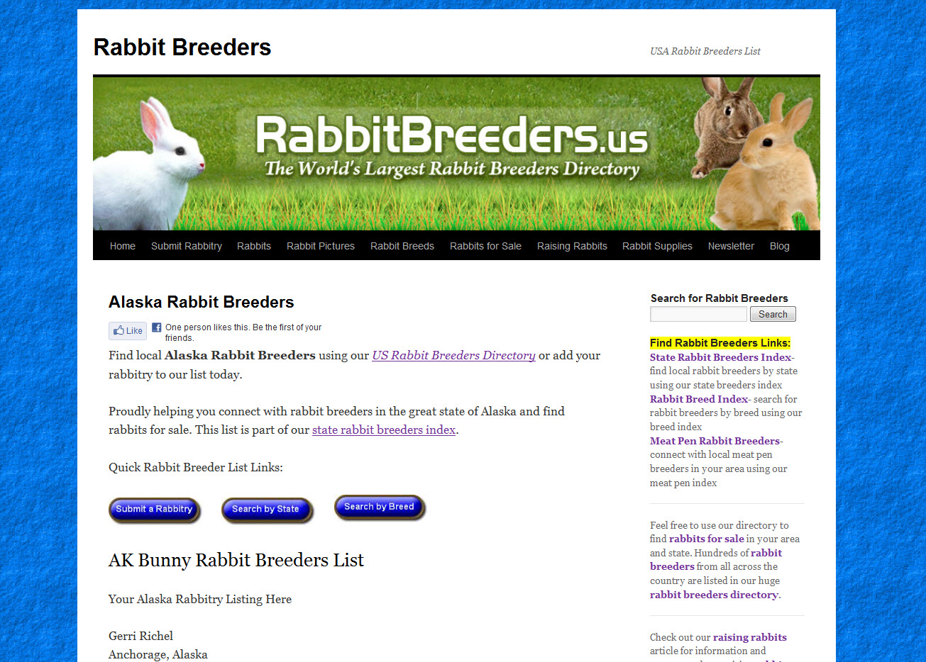 Rabbits for Sale in Alaska