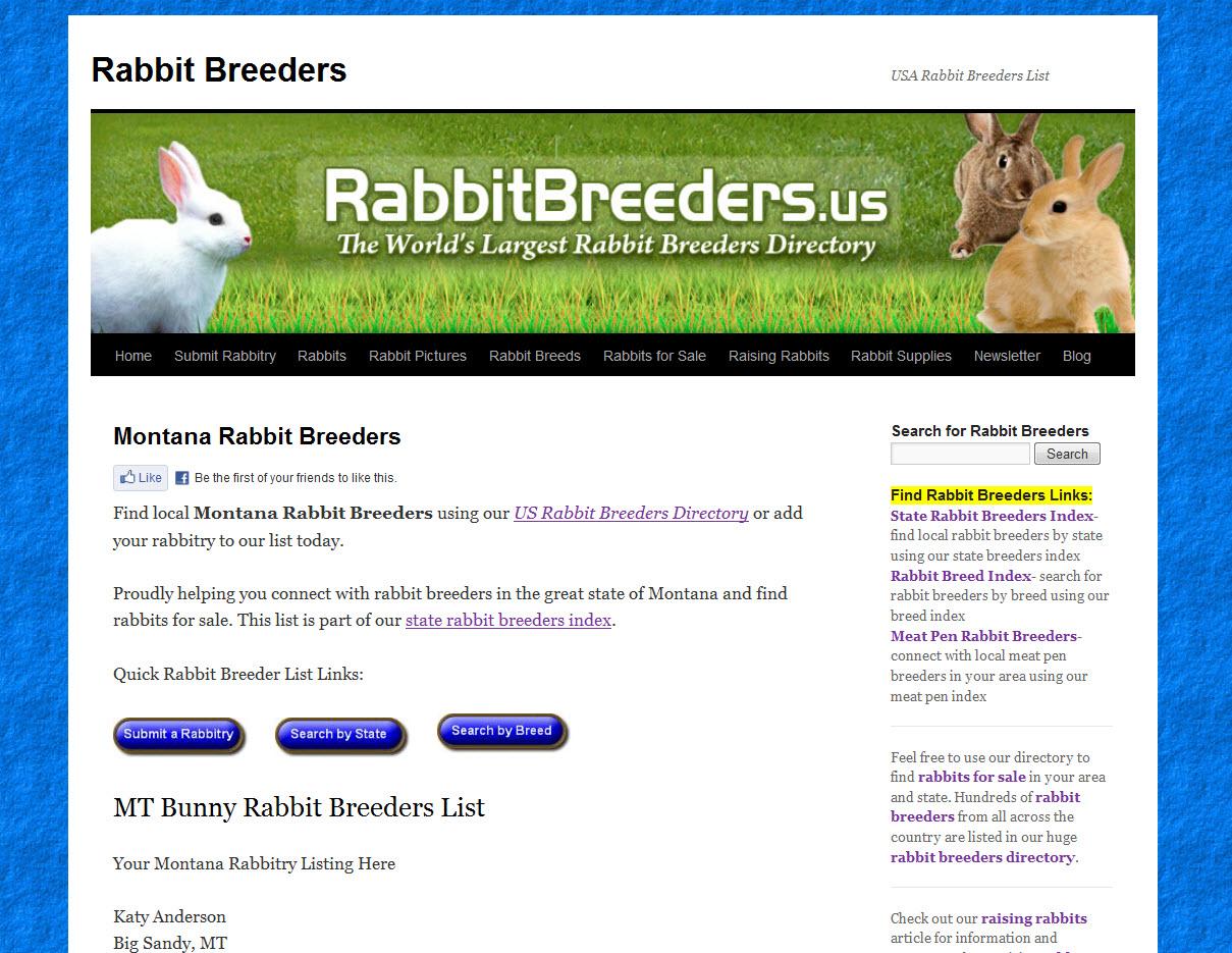 Rabbits for Sale in Billings