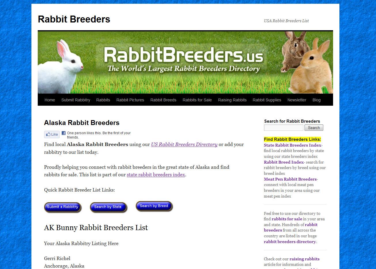 Rabbits for Sale in Fairbanks