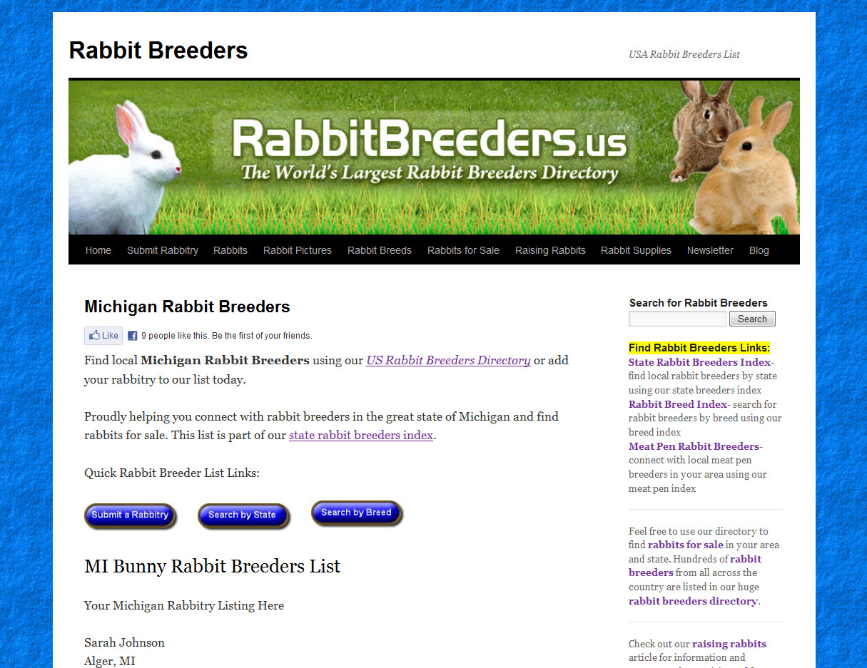 Rabbits for Sale in Michigan
