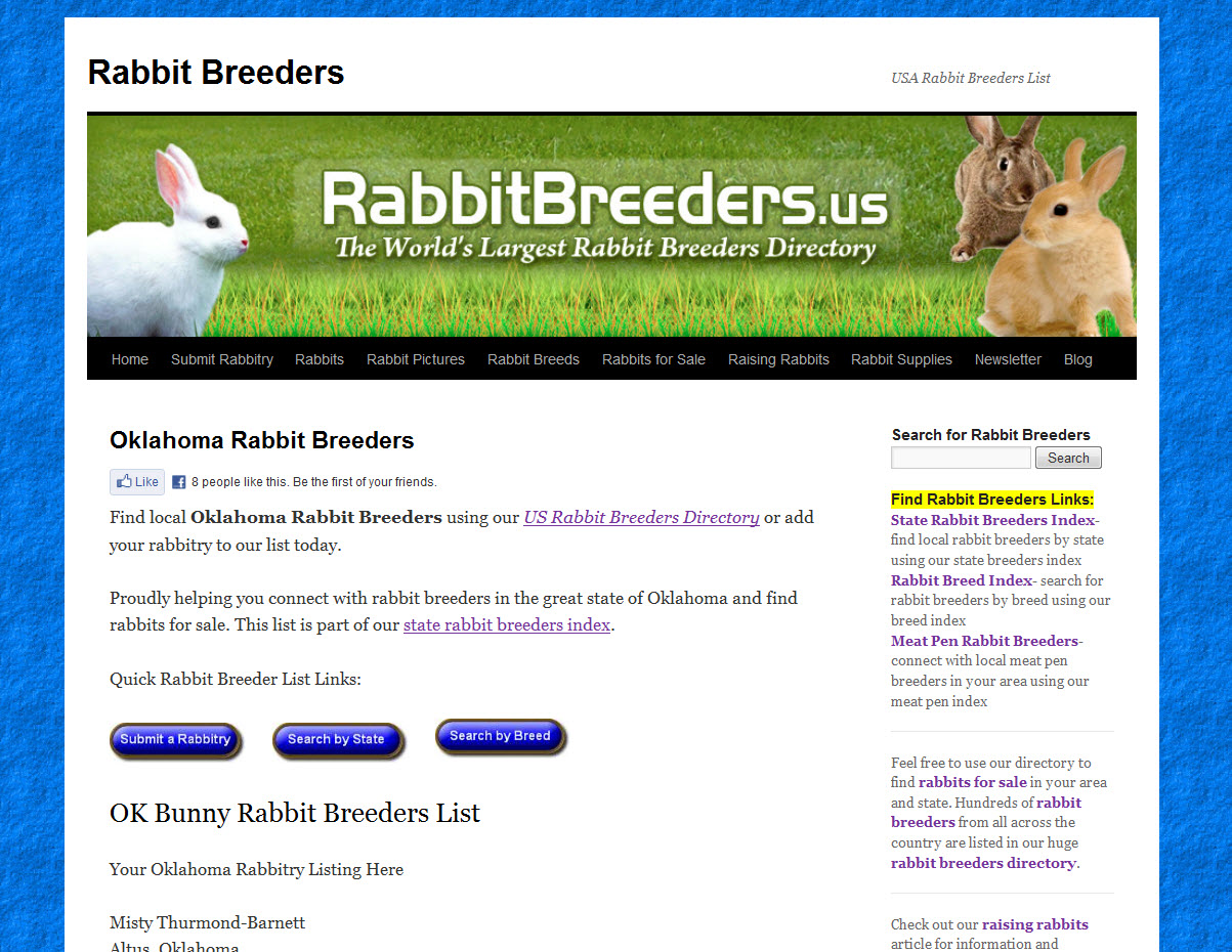 Rabbits for Sale in Oklahoma