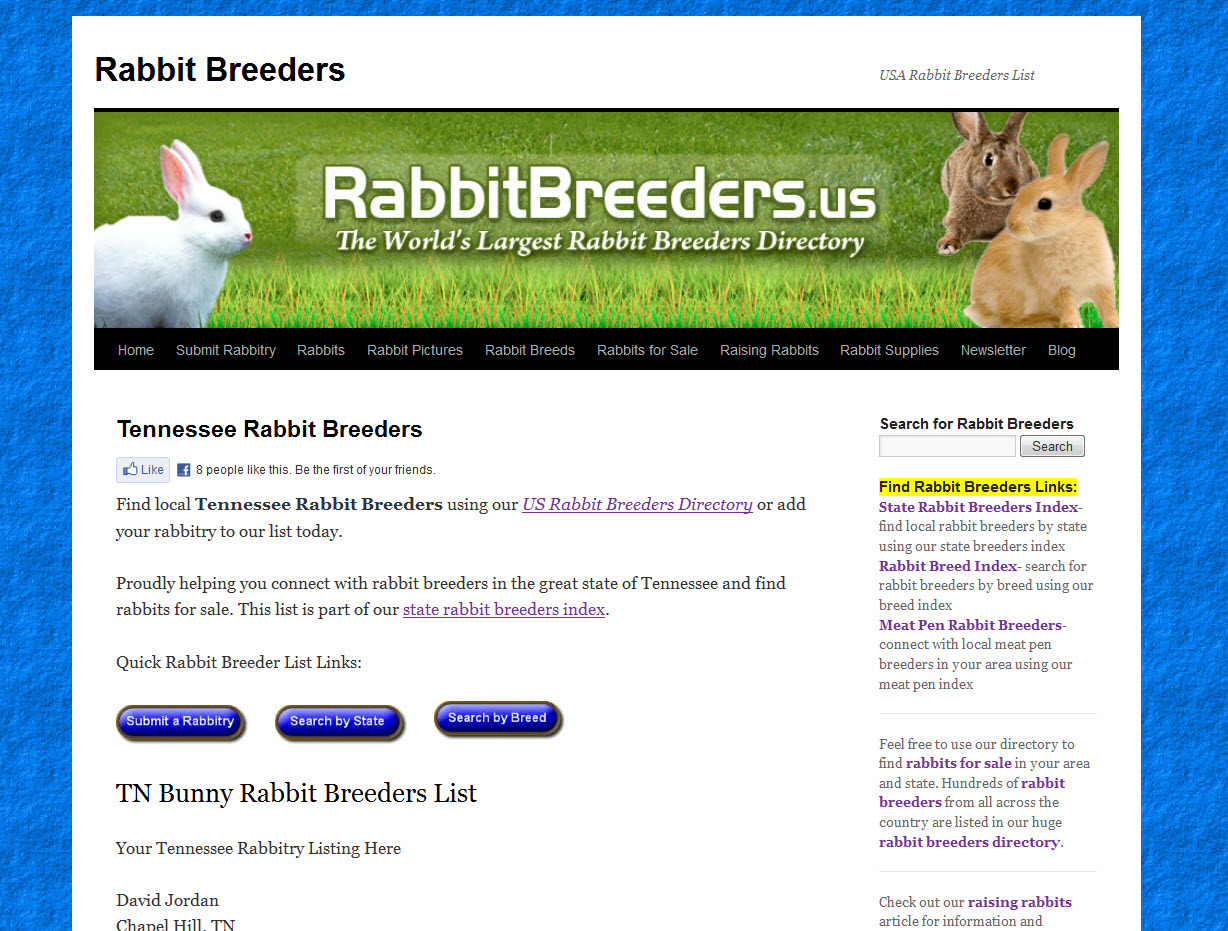 Rabbits for Sale in Tennessee