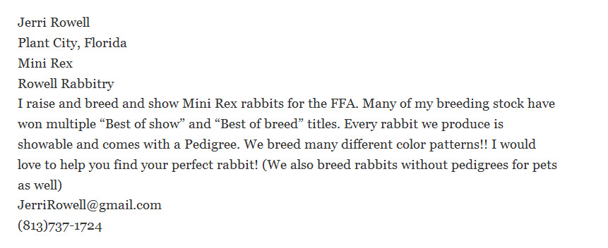 Rowell Rabbitry