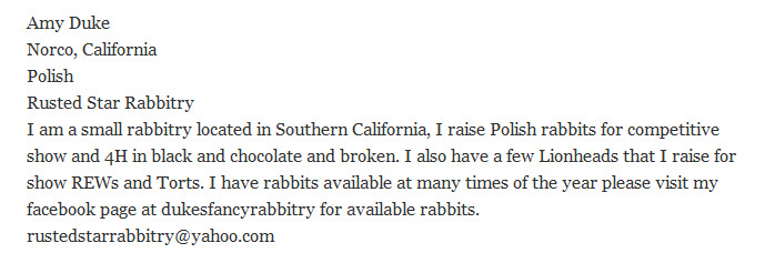 Rusted Star Rabbitry