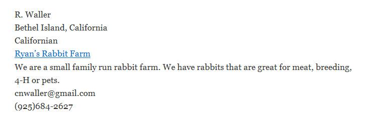 Ryan's Rabbit Farm