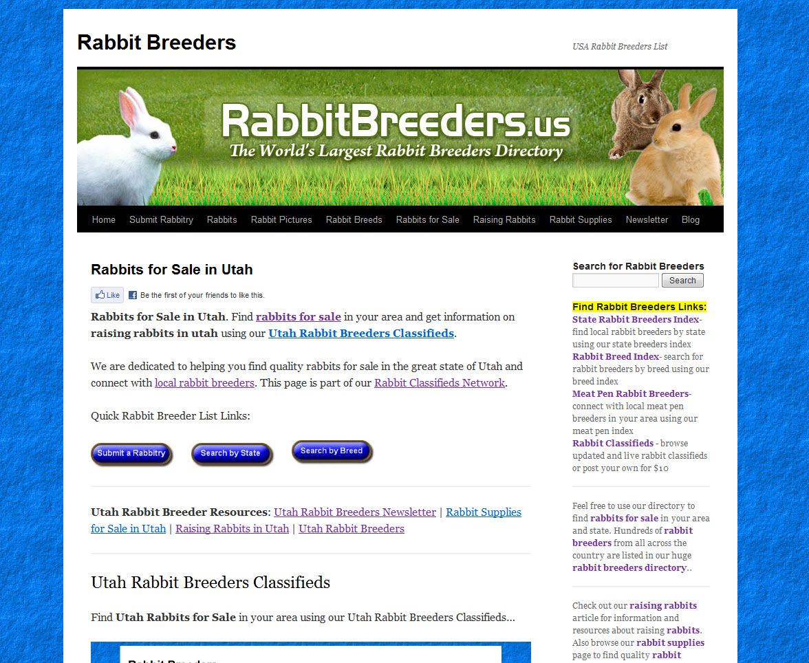 Utah Rabbit Breeders