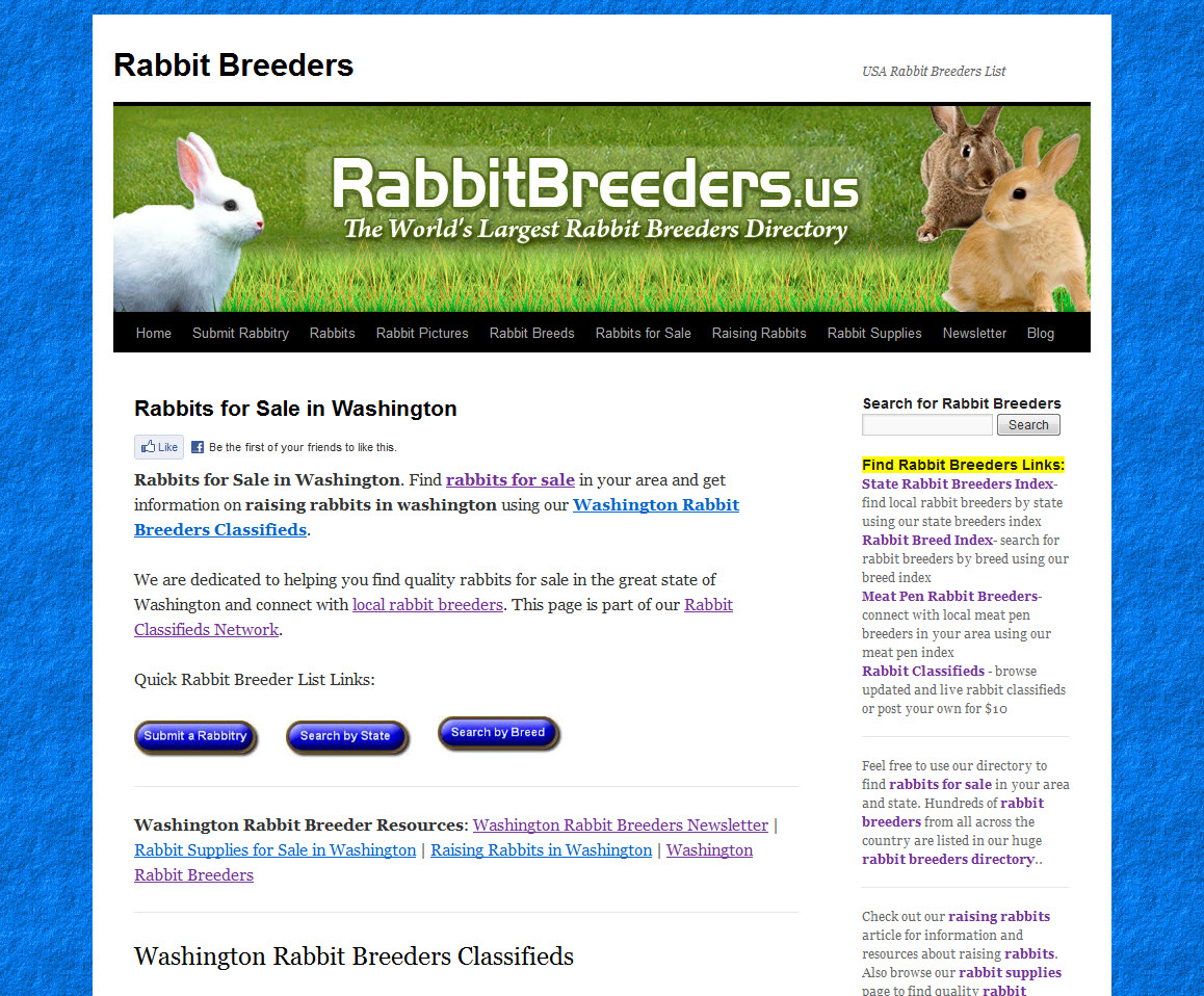 Washington Rabbit Breeders