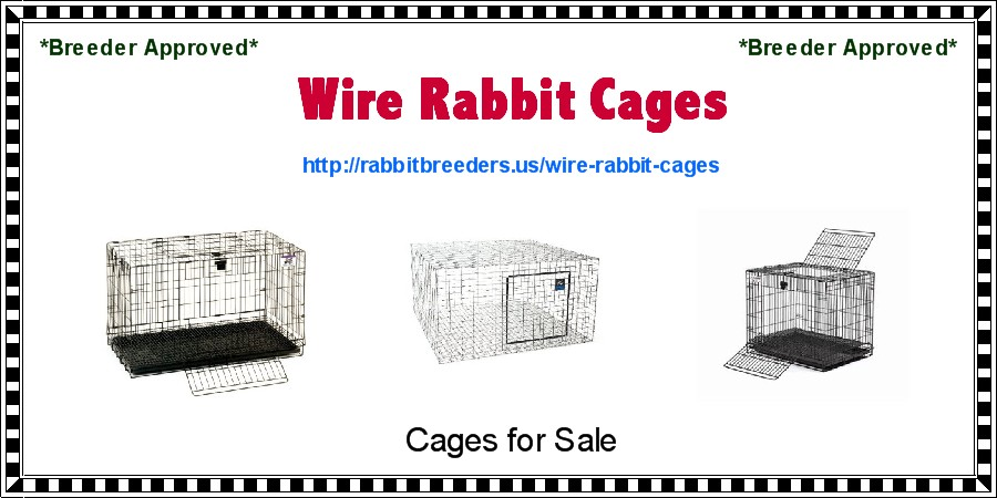 Wire Rabbit Cages