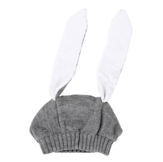 Knitted Bunny Ears Winter Bunny Caps