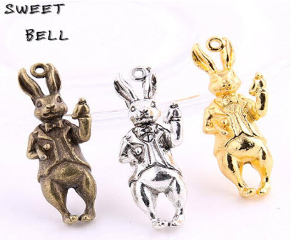 Adorable Bunny Charm Set