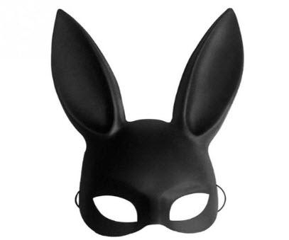 Bunny Rabbit Halloween Face Mask