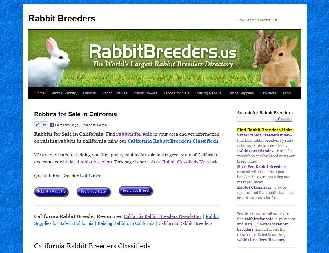 California Rabbit Breeders