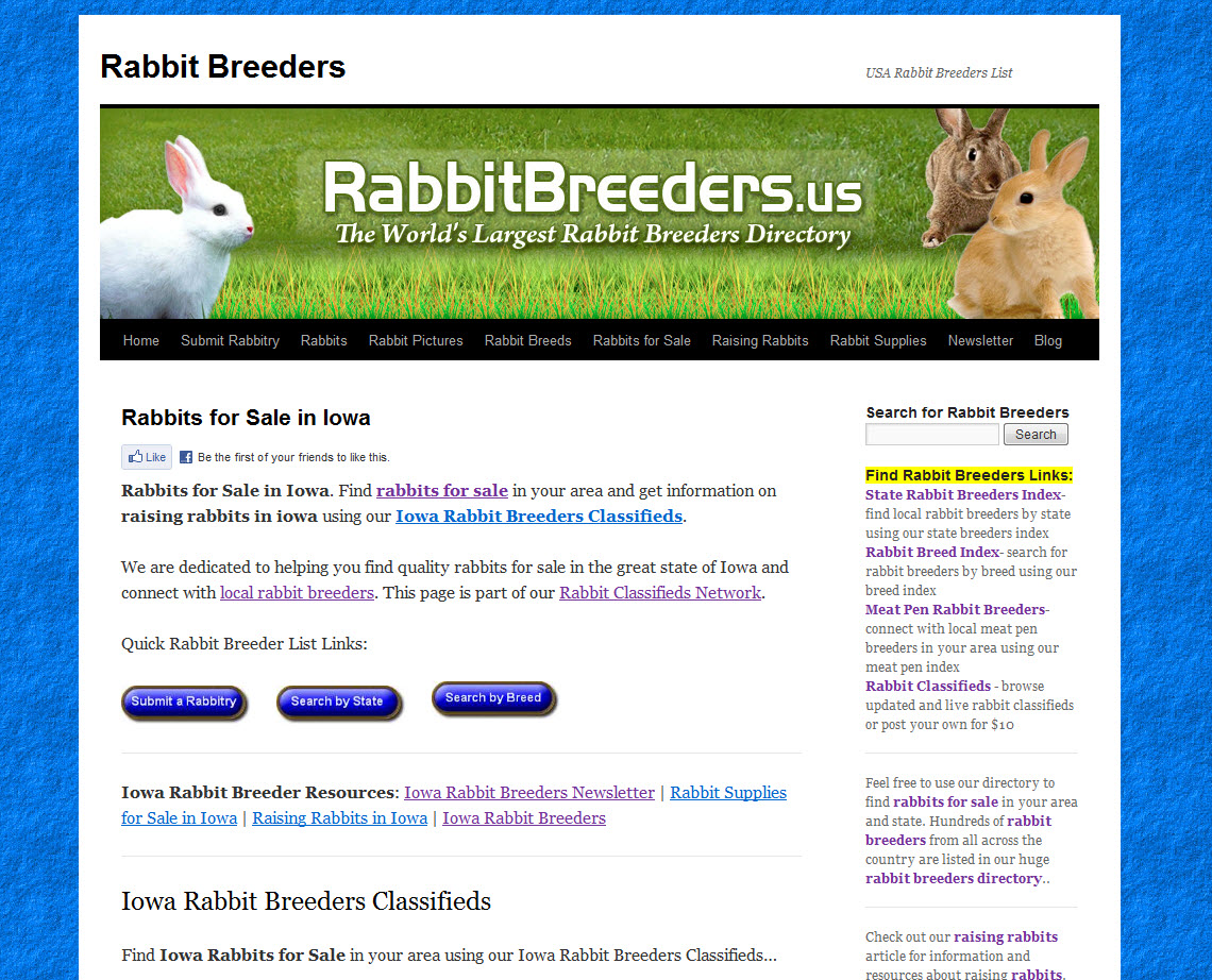 Iowa Rabbit Breeders