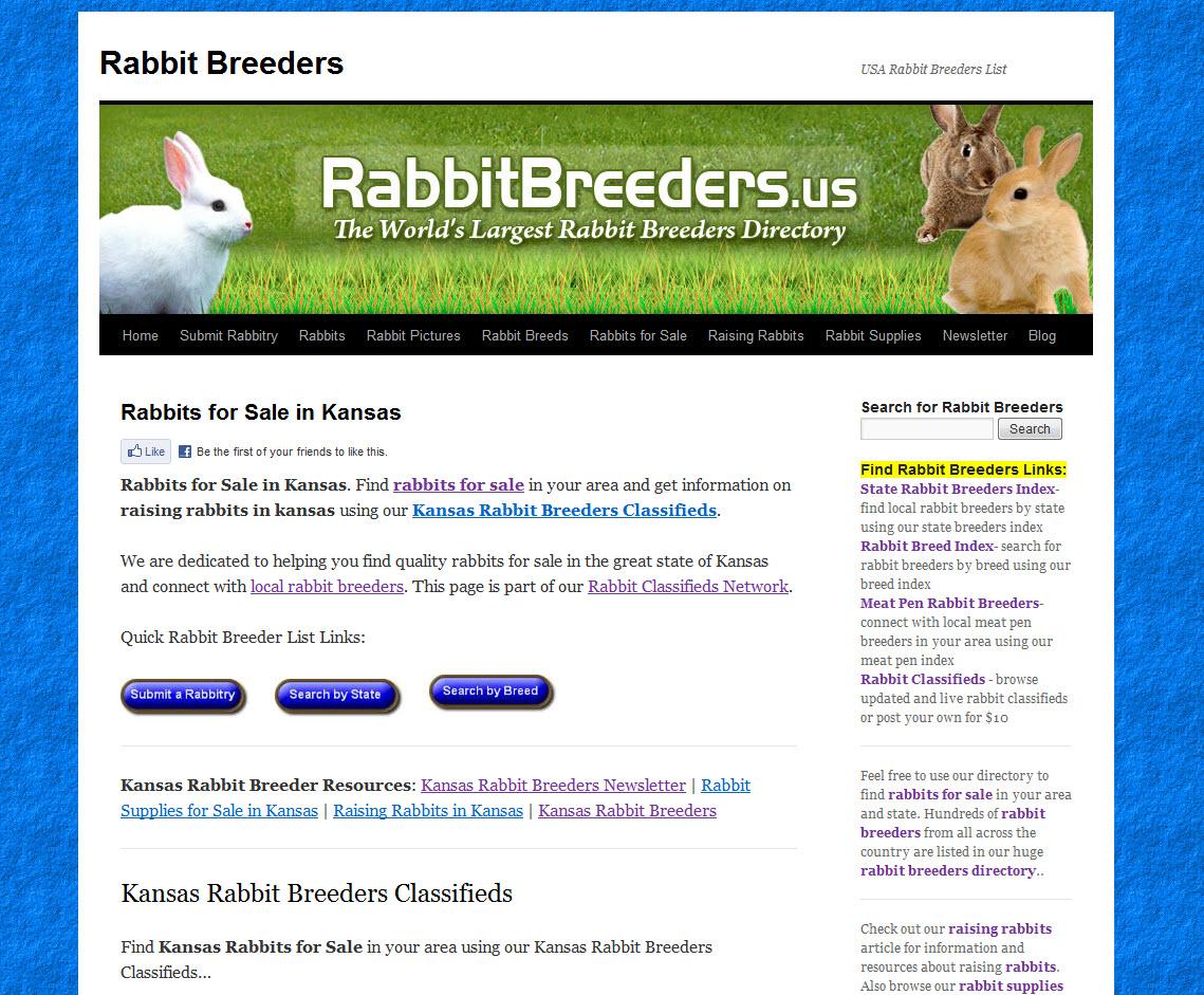 Kansas Rabbit Breeders