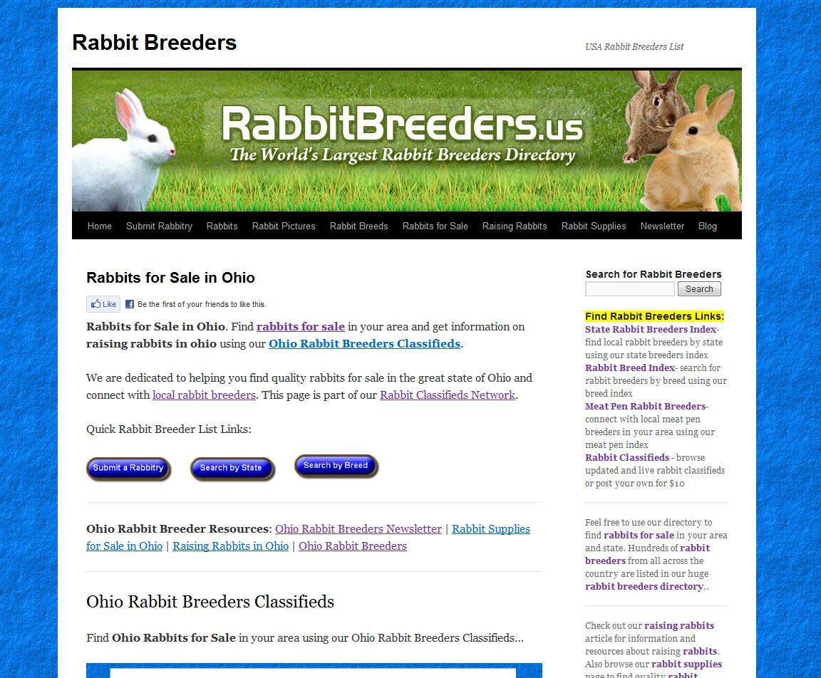 Ohio Rabbit Breeders