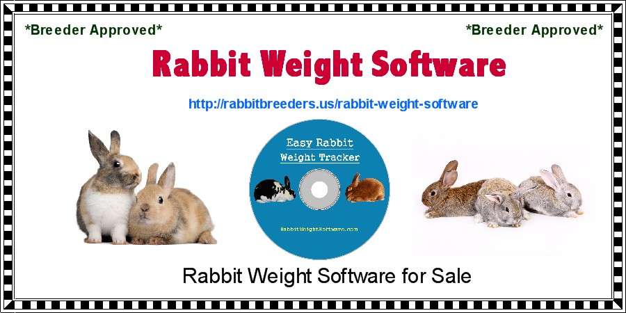 Rabbit Weight Software