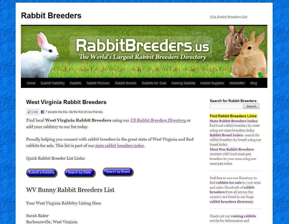 Rabbits for Sale in Charleston