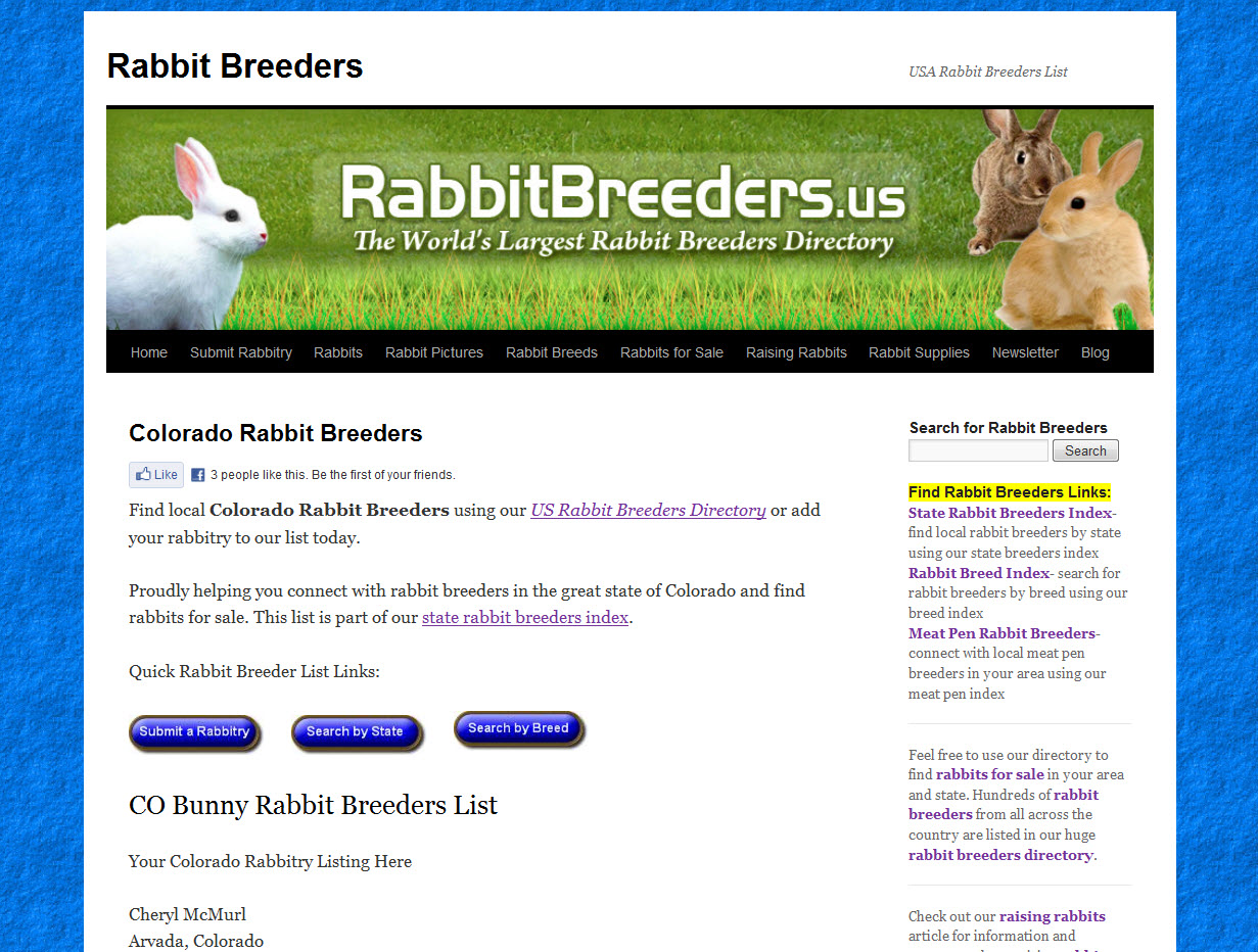 Rabbits for Sale in Colorado