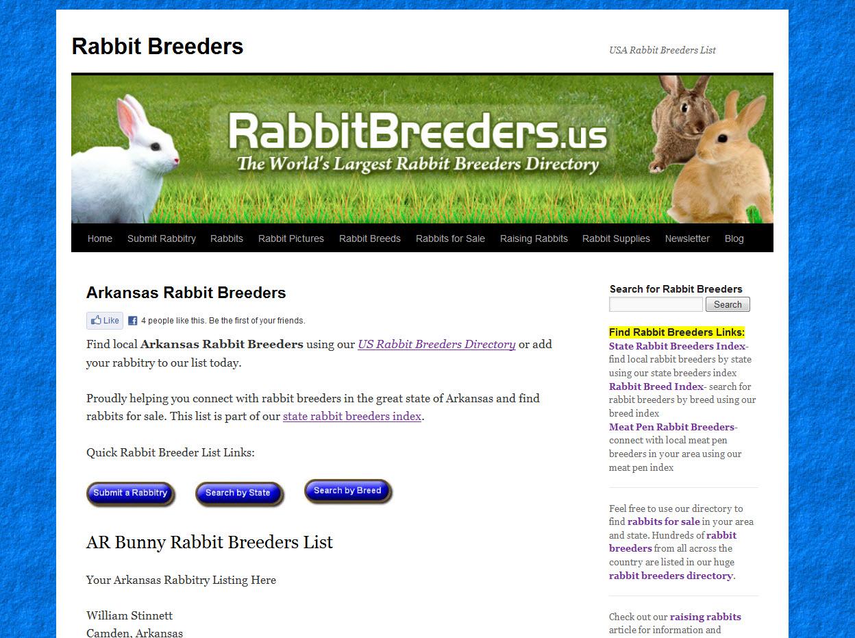 Rabbits for Sale in Jonesboro