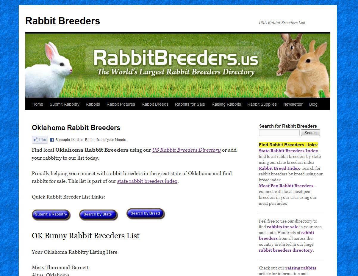 Rabbits for Sale in Oklahoma