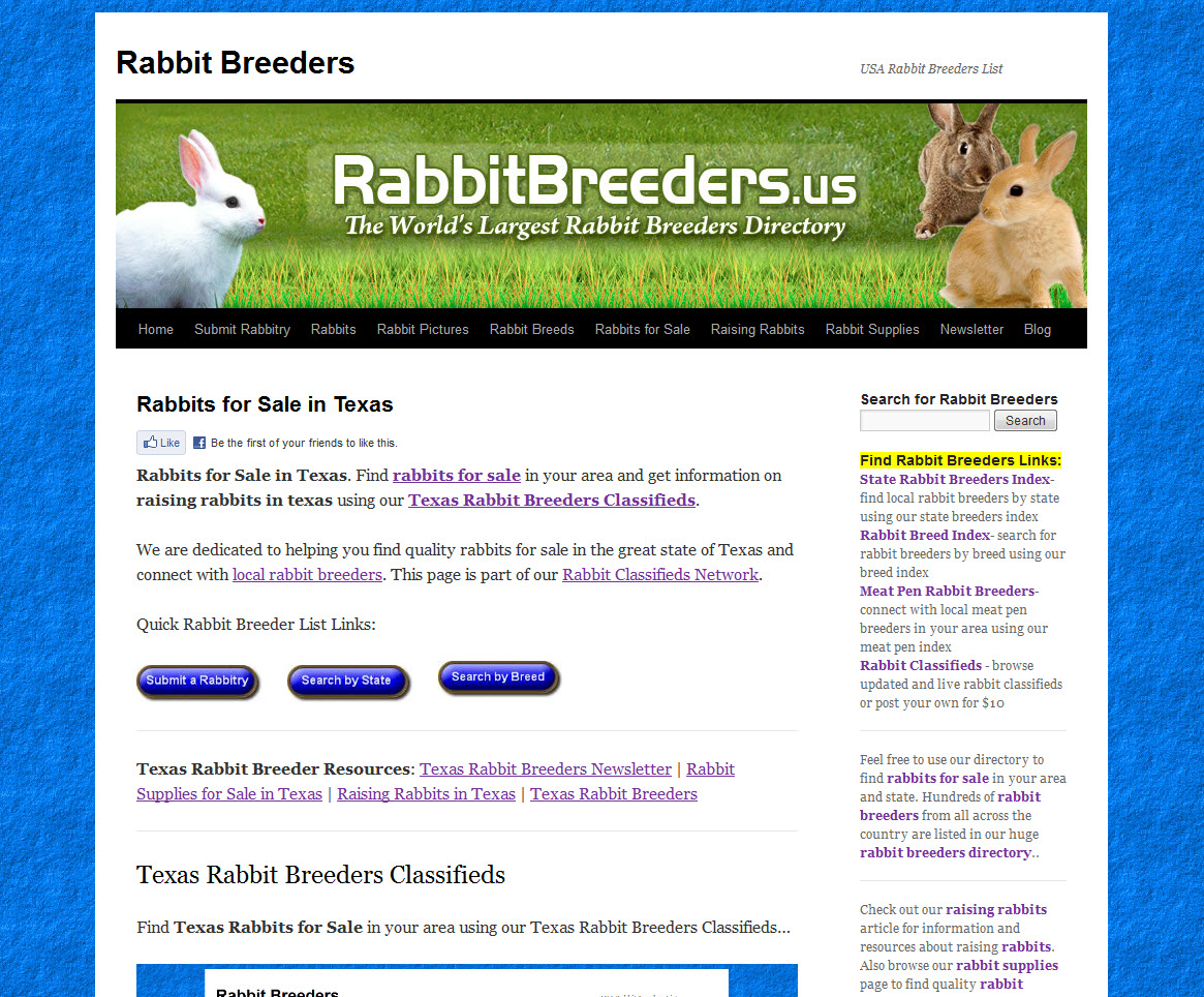 Texas Rabbit Breeders